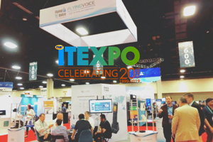 wireless phone exhibition at ITEXPO